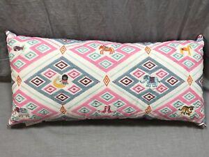 Pottery Barn Kids Justina Blakeney Geo Animal Embroidered Lumbar Pillow