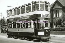 a0629 - Newcastle Tram no 282 to Scotswood - photograph