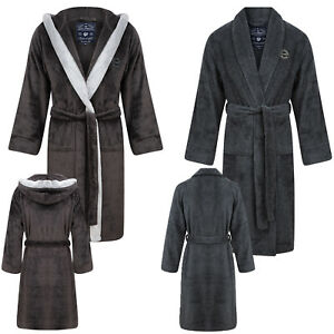 Tokyo Laundry Mens Luxury Sandhurst Or Buckingham Soft Nightwear Dressing Gown