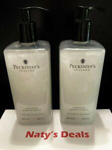 PECKSNIFF'S Lot of 2 GARDENIA & WHITE PEACH  MOISTURISING HAND WASH 16.9 Each
