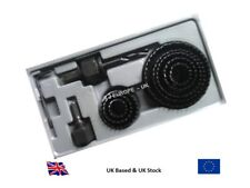 Hole Saw Cutter Set 11 Pc - Sizes 19 mm to 64 mm - Supplied in Plastic Case
