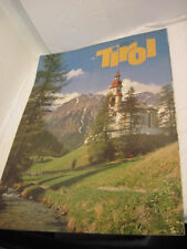 OLD TIRO AUSTRIA POSTER CHURCH IN THE COUNTRY