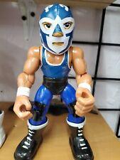 Micro Brawlers Jim Ross Jr WWE Pro Wrestling Lucha Cajón Raro AEW