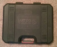 """MATCO Tools Empty Blow Mold Case 3/8"""" Impact Wrench or 1/2"""" Drill 14.4v 18v 20v"""