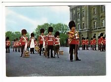 Postcard: The Corps of Drums, 1st Battalion Irish Guards, Buckingham Palace