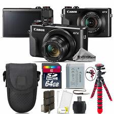 Canon PowerShot G7 X Digital DIGIC 7 WiFi NFC 20.1MP Camera + 64GB Essential Kit