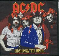 ACDC AC/DC Patch Highway to Hell Woven Patch