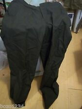 VINTAGE MILITARY GEAR TENNESSEE APPAREL AG344 US ARMY GREEN TROUSERS PANTS 34XL