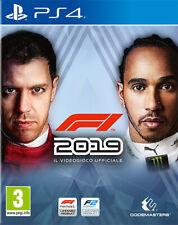 F1 2019 Standard Formula 1 (Guida / Racing) PS4 Playstation 4 CODEMASTERS