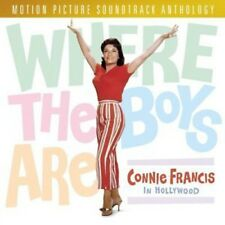 Connie Francis - Where the Boys Are: Connie Francis in Hollywood [New CD] Manufa