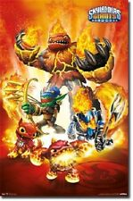 2012 SKYLANDERS GIANTS FIRE VIDEO GAME POSTER NEW 22X34 FAST FREE SHIPPING