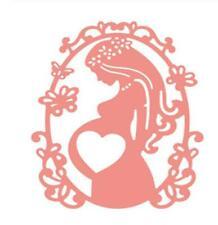Pregnant Woman dies Metal Cutting Dies Stencil Scrapbooking Card Craft Embossing