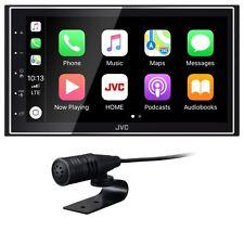 JVC KW-M745DBT 2-DIN Moniceiver CarPlay Android Auto USB Digitalradio Bluetooth