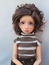Monique BIANCA Wig Dk Reddish Auburn Size 7-8 MSD Dollfie shown on Maddison