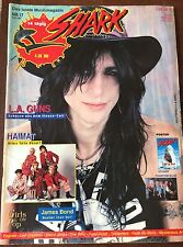 RARE Shark Magazine 1989 Germany Kelly Nickels Cover LA Guns Phantom Blue Glam