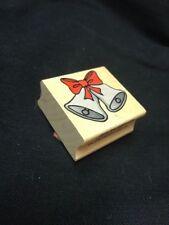 C3688 Two Bells Hero Arts wooden rubber stamps