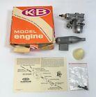 K & B 4011 40 R/C Front Rotor W/ K&B Carb Model Engine W/ Tank