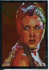 Star Wars Galaxy 7 Silver Foil Chase Card #7 Leia Organa