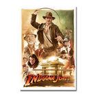 Indiana Jones Classic Movie Silk Poster Canvas Wall Art Print 12x18 24x36 inch