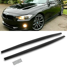 HC STYLE SIDE SKIRT EXTENSION BLADE DIFFUSER PAIR FOR BMW 3 SERIES F30 12-14