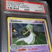 2003 EX Ruby Sapphire Gardevoir Holo #7 Pokémon PSA 9 MINT