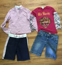 Youth Girls Clothing Lot 10/12, Ed Hardy, Mudd, & Many More Things