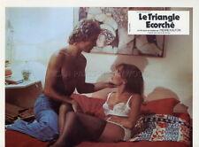 SEXY SABINE GLASER LE TRIANGLE ECORCHE 1975 VINTAGE LOBBY CARD ORIGINAL #8