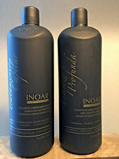 Inoar Brazilian  Keratin moroccan Blowout treatment & shampoo Kit 33.8oz/ liter
