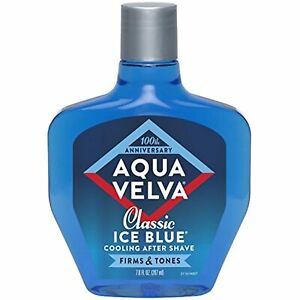 Aqua Velva After Shave for Men, Classic Ice Blue