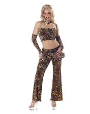 Fine Foxy Mama Pimp Leopard Adult Sexy Womens Halloween Costume S