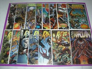 Chapel 1 1997 1-7 & Ripclaw 1-6 + Special VF/NM! Image Awesome set 1928