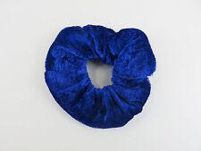 Velvet Scrunchie lazos para el cabello - 2 o 4 del mismo color-Elija entre 12 Colores