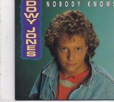 Dowy Jones-Nobody Knows cd single