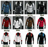 Mens Creed Cool Assassins Fashion Hoodie Jacket Costume For Cosplay Slim Lot