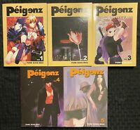 Peigenz 1, 2, 3, 4, 5 Manga Graphic Novel OOP