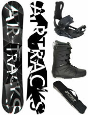 AIRTRACKS Snowboard Refractions Game + Fixation Master + Bottes + Sac / 155 159