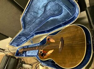 1984 Ovation Collector's Series Acoustic Electric Guitar w/Case 1984-5 Nutmeg