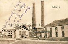 Ansichtskarte Sárvár Cukorgyár Zuckerfabrik Ungarn 1929 Kotenburg Industrie