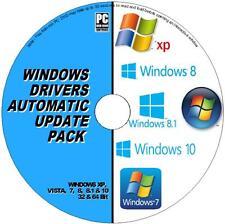 DRIVERS AUTOMATIC UPDATE PACK DVD WINDOWS XP VISTA 7 8 10 UPDATE ALL PC/LAPTOPS