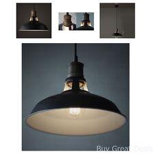 Vintage Look Metal Barn Pendant Light Lamp Home Improvement Kitchen Indoor Decor