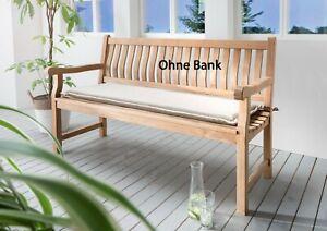 Destiny Bankpolster 170 cm Sand Meliert Auflage für Gartenbank Polster