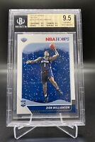 2019/20 PANINI HOOPS WINTER #258 ZION WILLIAMSON BGS 9.5 TRUE GEM MINT