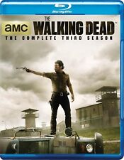 The Walking Dead: The Complete Third Season 3 (Blu-ray Disc, 2013, 5-Disc Set)