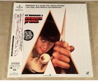 Stanley Kubrick A CLOCKWORK ORANGE JAPAN Laser Disc movie New