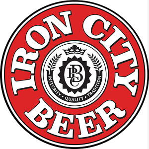 11.75in Round iron city sign (2 sizes)