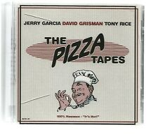 "CD JERRY GARCIA DAVID GRISMAN TONY RICE ""THE PIZZA TAPES"" - 2000"
