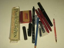 New ListingMixture Of Vintage Writing Tools; Fountain Pens,Nibs,Pencils,Cartrid ge,Pen Caps.