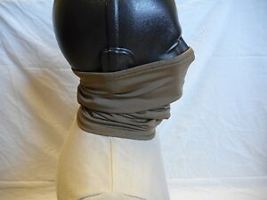 MILITARY ISSUE, COYOTE, NECK GAITER, NSN: 8440-01-387-8509, NEW WITH TAG