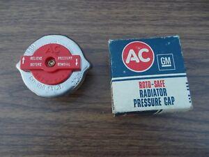 New AC Roto-Safe Pressure Relief Radiator Cap 13# 61 62 63 64 65 Ford Econoline