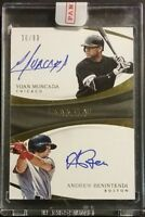 2017 Immaculate YOAN MONCADA Auto Rookie ANDREW BENENTENDI Autograph Rookie /99